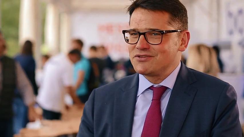 Boris Rhein auf dem Hessentag 2015